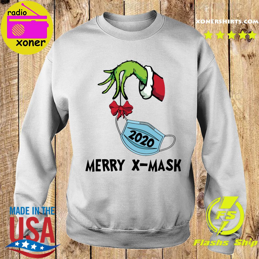 Merry X-Mask V-Neck Sweatshirt