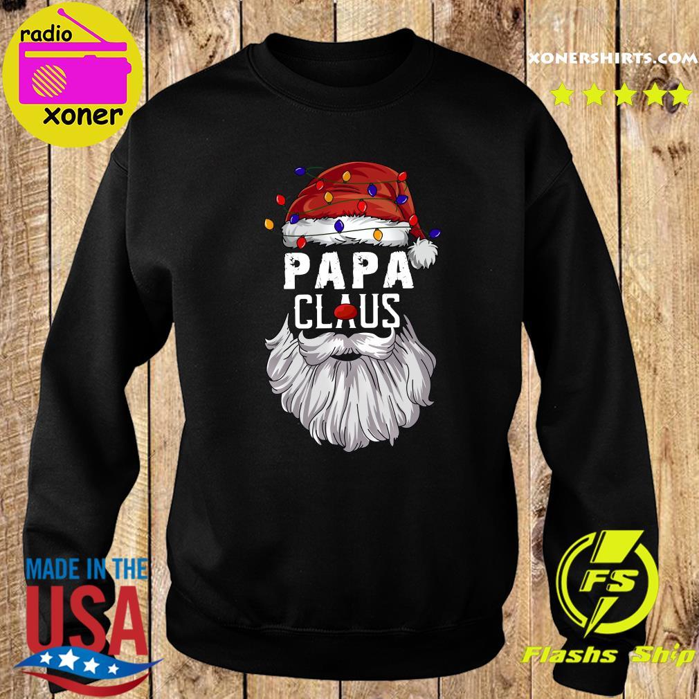 Papa Claus Merry Christmas Sweatshirt