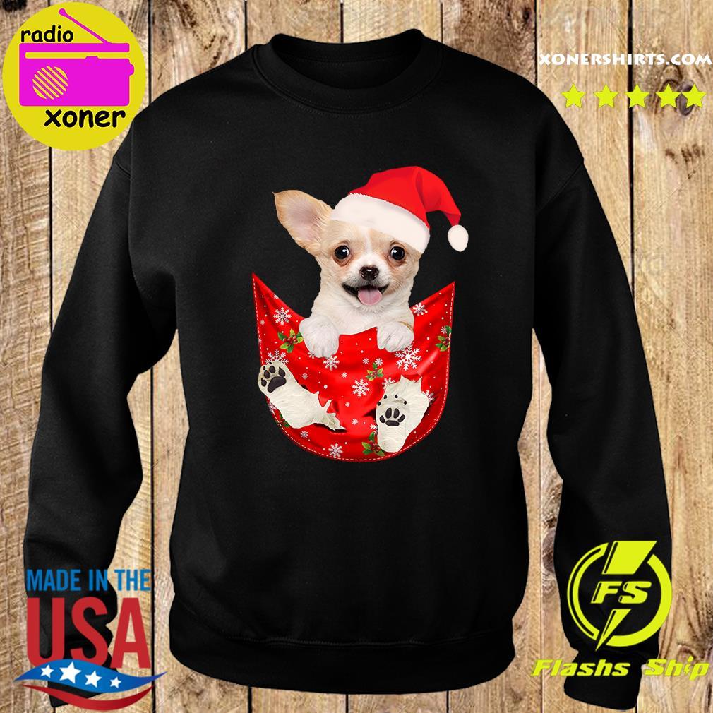 Santa Chihuahua Dog Merry Christmas Sweatshirt