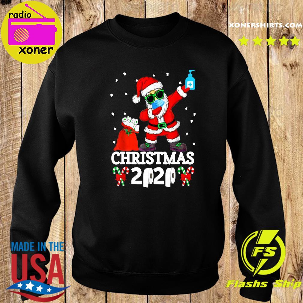 Santa Claus Dabbing Toilet Paper Christmas 2020 Sweatshirt