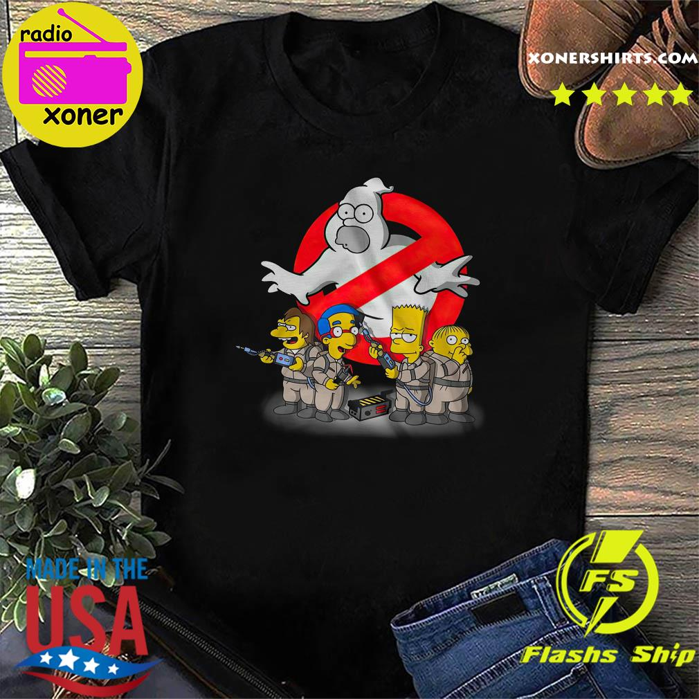 The Simpsons Ghostbusters shirt