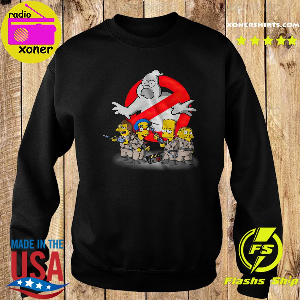 The Simpsons Ghostbusters s Sweater