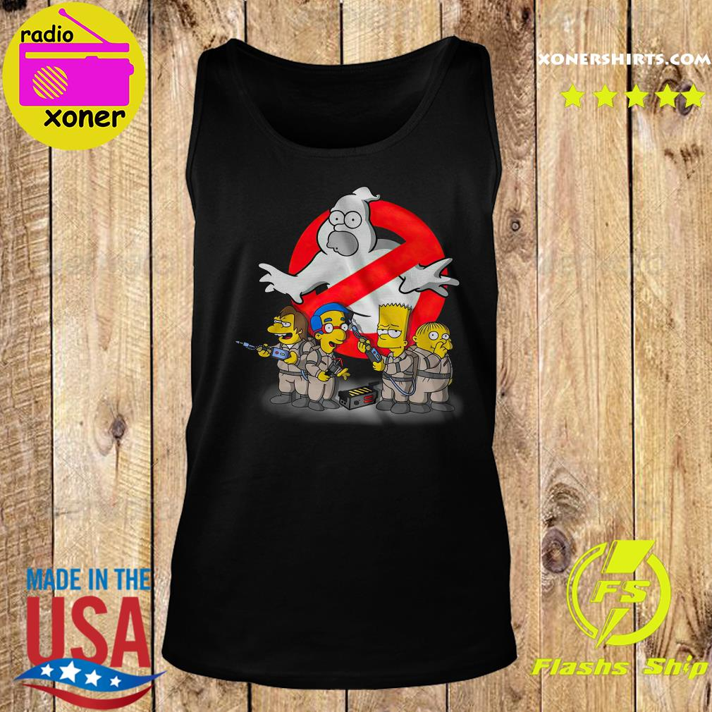 The Simpsons Ghostbusters s Tank top
