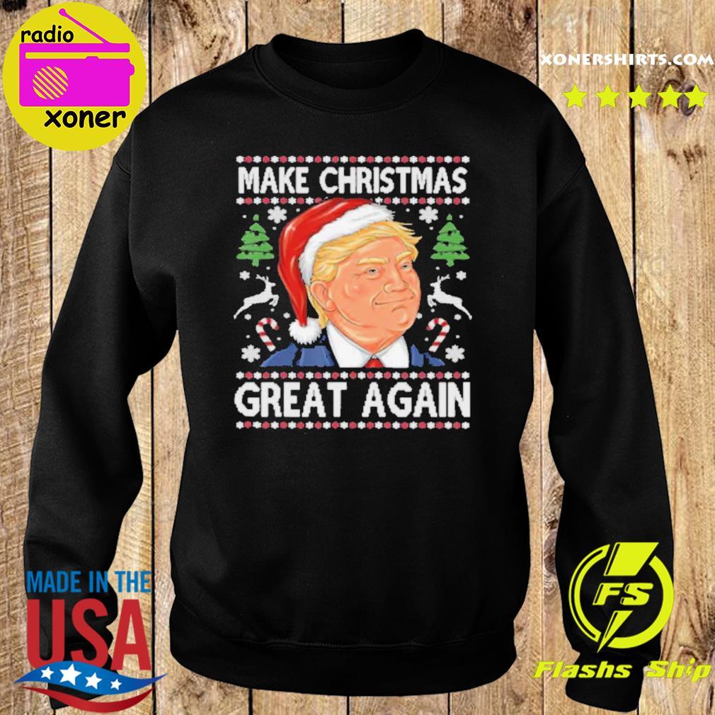 Donald Trump Grab/'em Funny Ugly Christmas Youth Kids Long Sleeve T-Shirt Gift