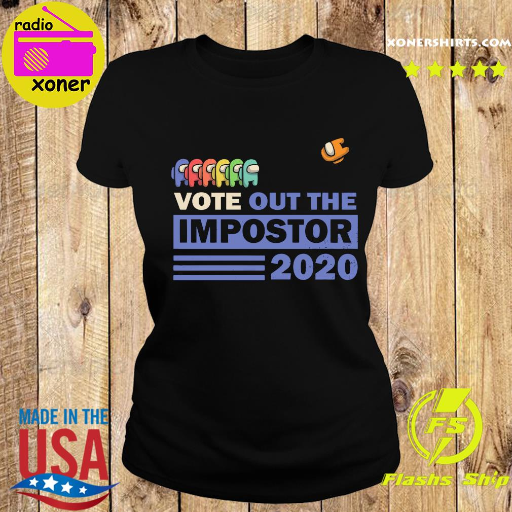 Vote Out The Impostor 2020 Shirt Ladies tee