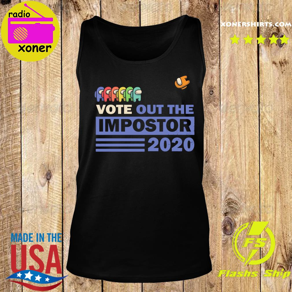 Vote Out The Impostor 2020 Shirt Tank top