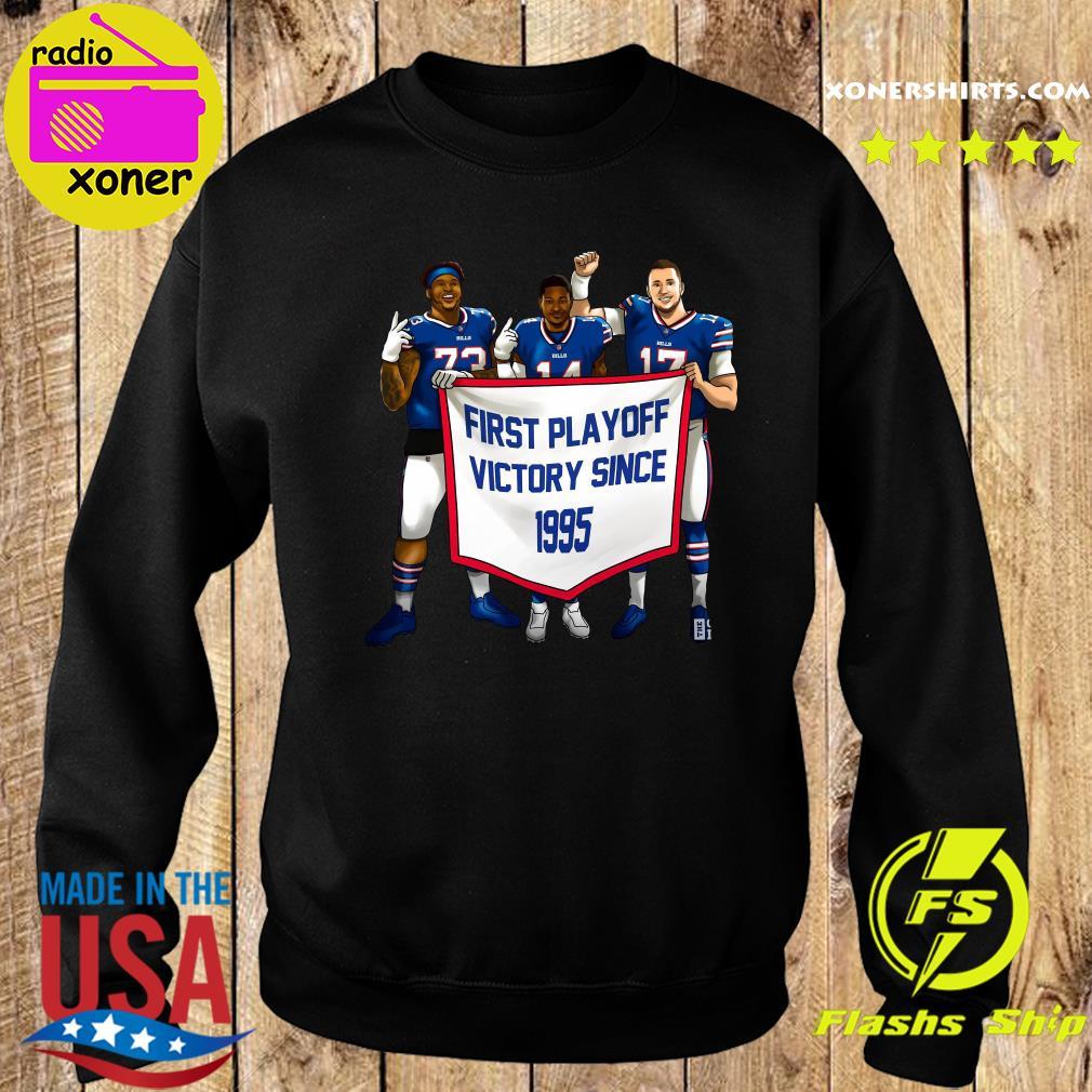 Buffalo Bills First Playoff Victory Since 1995 Shirt Sweater
