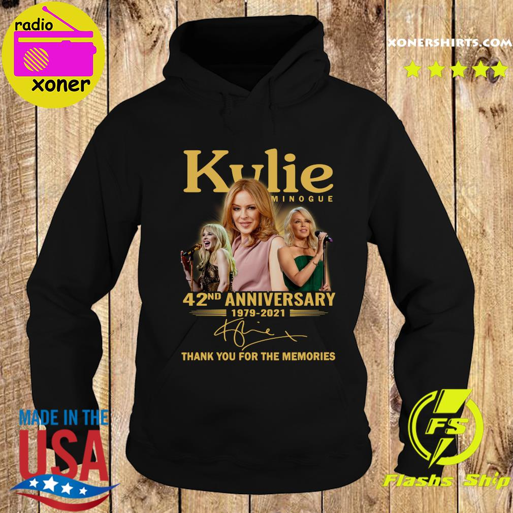 Kylie Minogue 42nd Anniversary 1979 2021 Thank You For The Memories Signature Shirt Hoodie