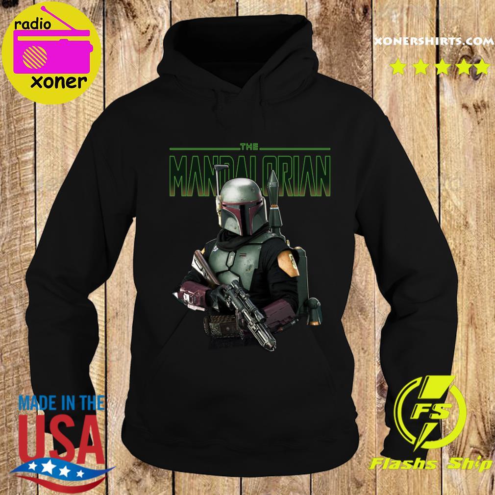Official Star Wars The Mandalorian Retro Shirt Hoodie