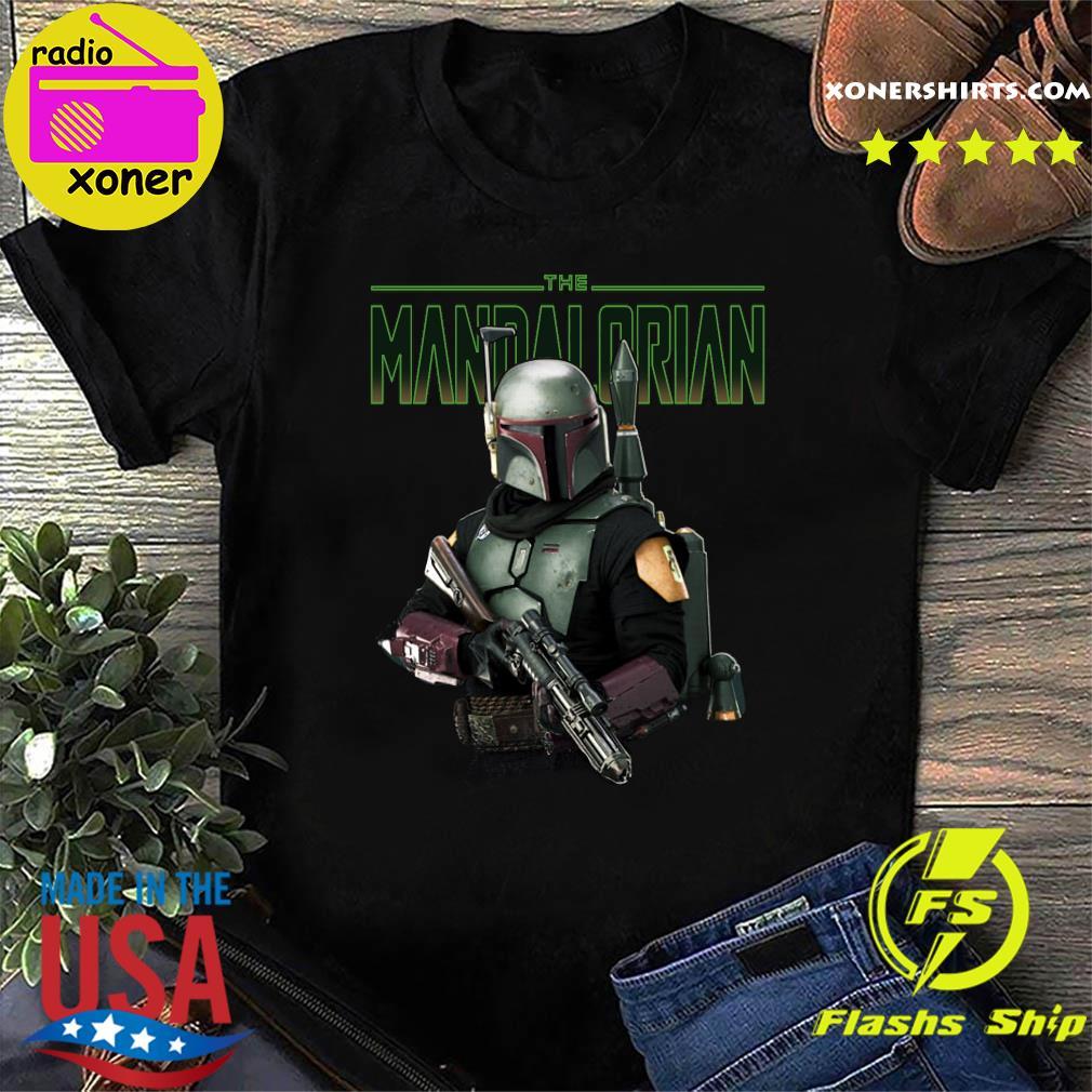 Official Star Wars The Mandalorian Retro Shirt